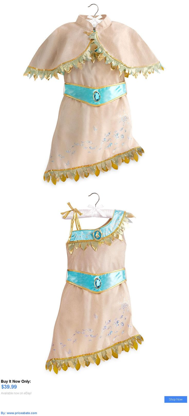 Kids Costumes: Disney Store Princess Pocahontas Halloween Costume Dress Girl Size 5/6 7/8 BUY IT NOW ONLY: $39.99 #priceabateKidsCostumes OR #priceabate