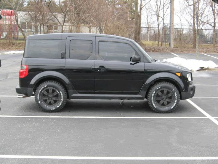 lifted with aggressive tires for winter conditions honda