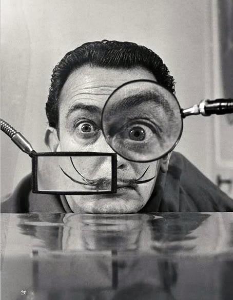 Salvador Dali Classic Photo
