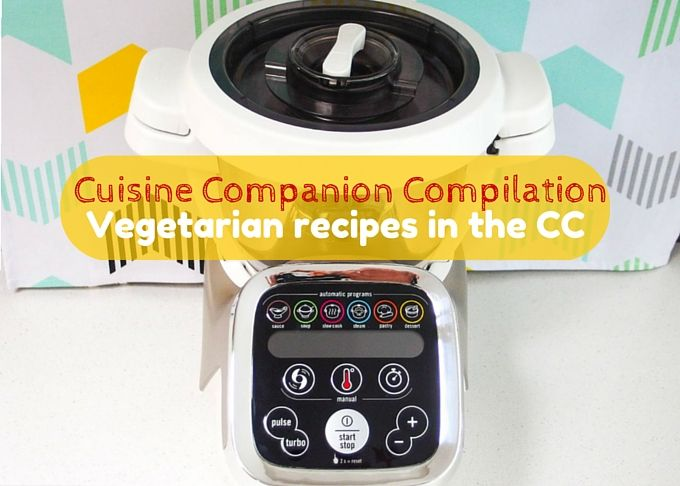 A growing list of easy vegetarian recipes made in the Tefal Cuisine Companion.