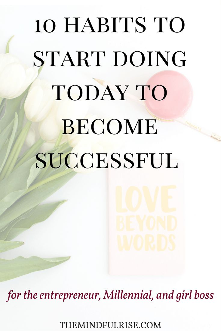 Tips to Becoming Successful | Good Habits | Advice and Motivation