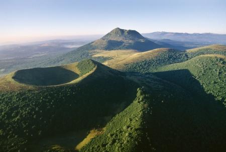 Chaine des puys, Auvergne, France
