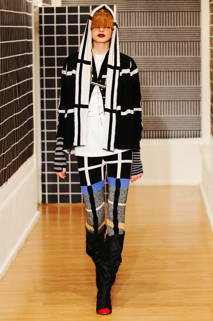 COOPERATIVE DESIGNS, AW10 FIRST EXIT: mondrian meets m.i.a.