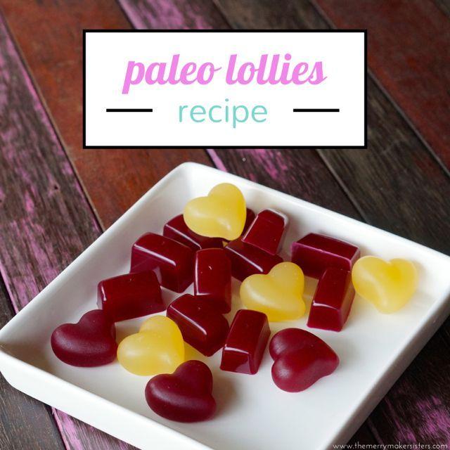 Paleo Lollies