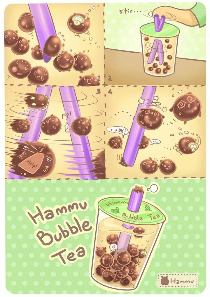 Hammu comic: Bubble Tea