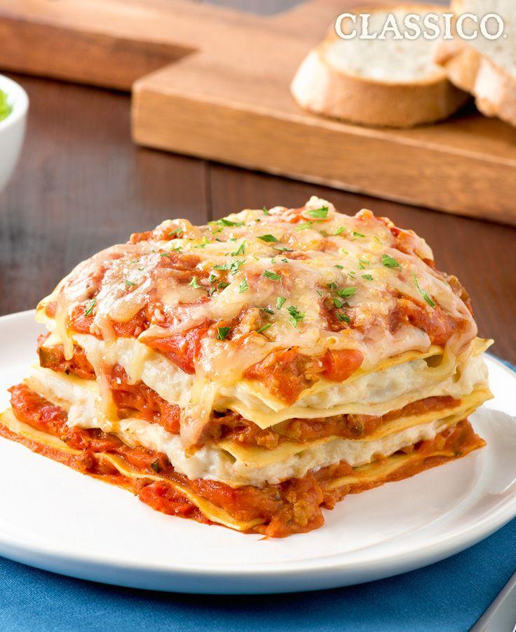 Lasagne Basilicata classique #recette