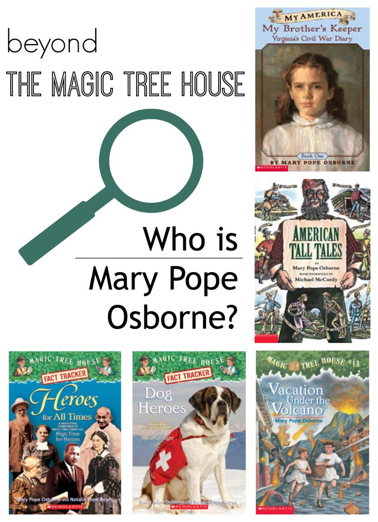 Superb Author Of Magic Treehouse Books Part - 11: Beyond The Magic Tree House: Who Is Mary Pope Osborne?