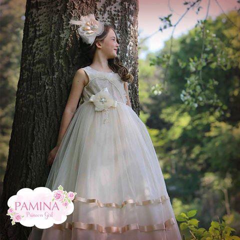 Bahar en çok küçük prenseslerimize yakışıyor!  :) Pamina princess girl look like spring...