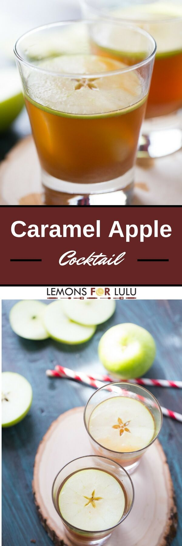 Caramel apple cocktail is the adult version of the classic fall treat! Crisp…