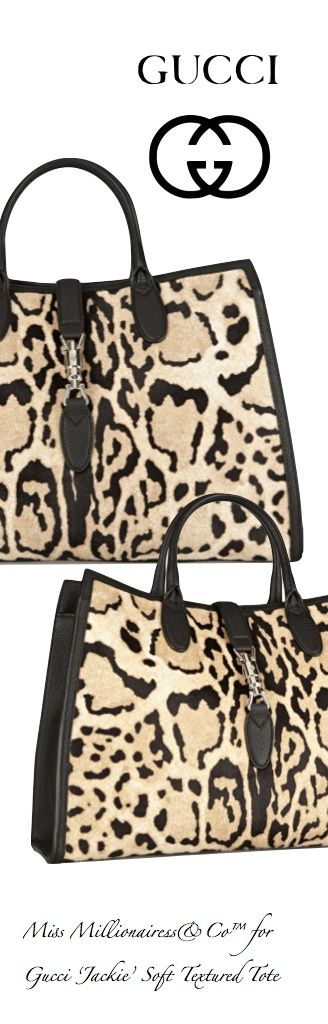 Gucci 'Jackie' Soft Textured Top Handle Tote