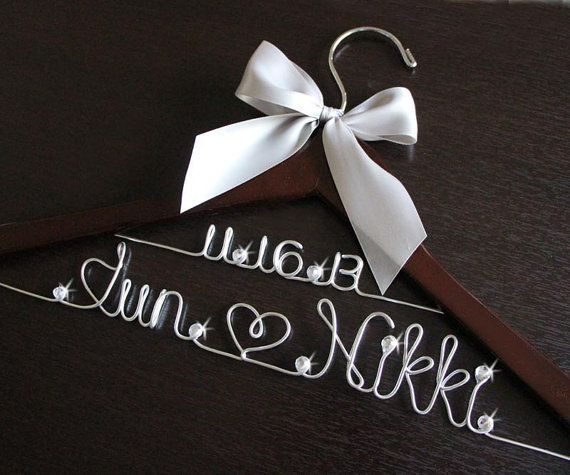 hangers wedding hangers deana s bridal bridal party bridal hangers