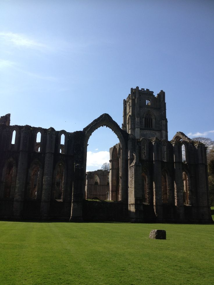 Fountains Abbey & Studley Royal Water Garden in Ripon, North Yorkshire