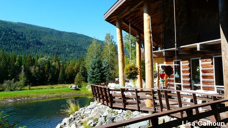 Idaho - Copper Creek Falls. Cudowne miejsce na kulinarne spotkanie z przyjaciółmi