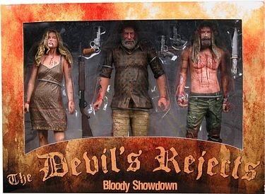 The Devil's Rejects Bloody Showdown Figure Set