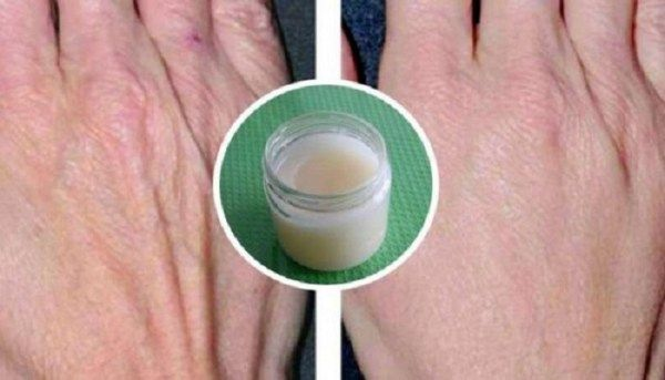 Rejuvenation-Cream-Rub-On-Your-Skin-And-See-The-Magic. Ingredients:  2 tablespoonsbrown sugar 1 tablespoonolive oil or coconut oil 1 tablespoon ofcinnamon Method of preparation:  In a small bowl mix together all the ingredients  until you get a paste. Apply the mixture to your hands and rub them gently. Wash your hands with warm water and pat dry with a cotton cloth. The results are visible and it's amazing how much younger your hands will look only after a couple of uses.