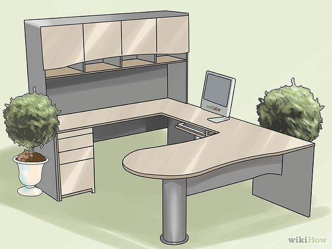 Steps to make a comfortable, professional office.