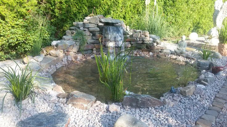 28 best Teich images on Pinterest Garden ponds, Water features and
