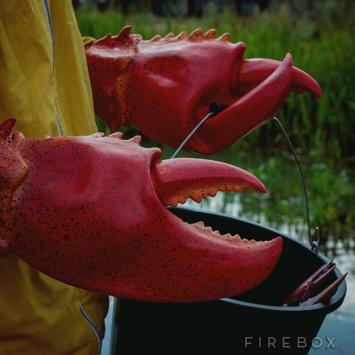 Giant Lobster Claws $36.09 from Firebox.com
