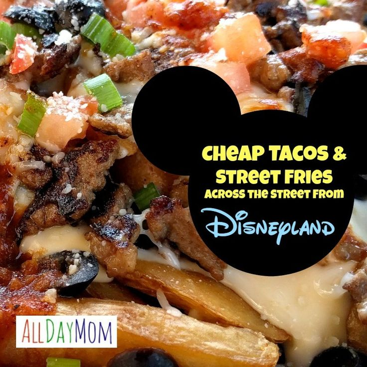 Cheap restaurant right across the street from Disneyland Jimboy's Tacos Anaheim review - with kid's restaurant review too!