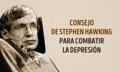 Excelente consejo deStephen Hawking para aquellos que quieren combatir ladepresión