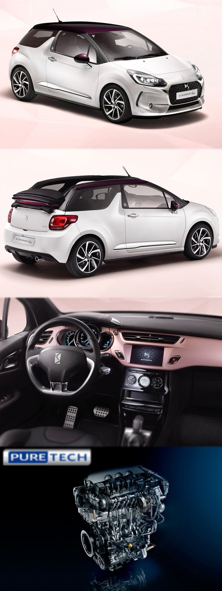 Citroen DS3 gets Givenchy Treatment For more details;http://www.engineprices.co.uk/blog/citroen-ds3-gets-givenchy-treatment/