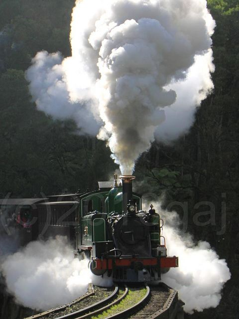 Puffing Billy Steam Train, Victoria, Australia