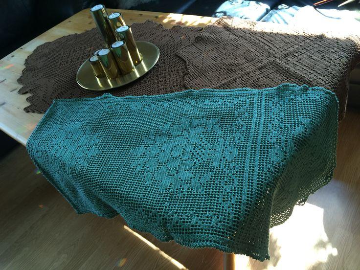 Crochet løpere.