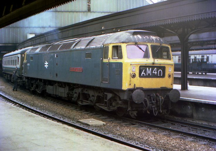 47076 'City of Truro' at Paddington on 18th May 1976. (Barry Lewis)