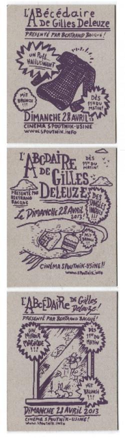 Cinéma Spoutnik. L'usine, Genève - L'ABÉCÉDAIRE DE GILLES DELEUZE