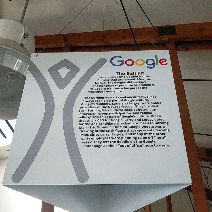 Read this. How does Google stay innovative? Burning man. . . #google #burningman #innovation