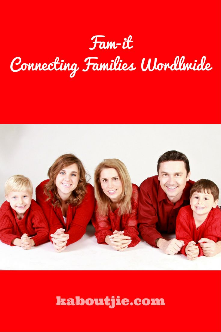 Families these days are all over the world, this awesome Fam-it app brings families closer together again!  #FamIt #FamilyApp #FamitHomeCamera