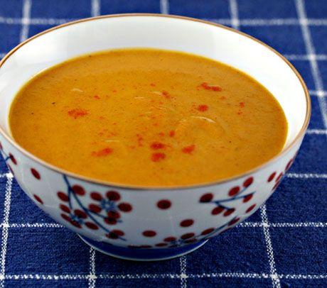 Coriander Carrot Soup - carrots, potatoes, onions, cumin, coriander ...