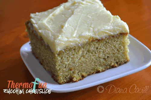 ThermoFun Zucchini Cake Recipe