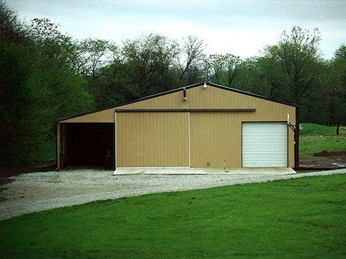 steel garage buildings and kits