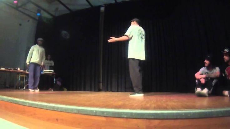 TEAM DEATMATCH | 1/8FINAL HIP HOP Samu (the first dancer) https://www.facebook.com/samufonzarelli
