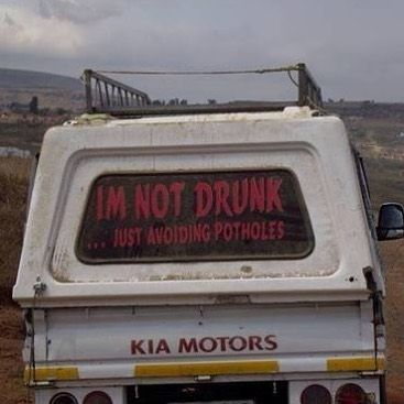 Proactivity for the win #southafrica #potholes #monday