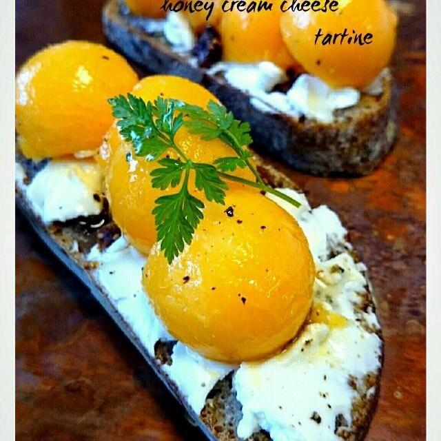 完熟パパイアにクリームチーズ 大好きです - 51件のもぐもぐ - パパイアタルティーヌ by satomi