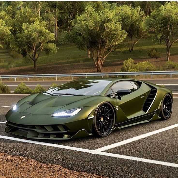 "6,572 Likes, 63 Comments - Daily Exotics 570 | Nick (@dailyexotics570) on Instagram: ""Military Green Lambo looks insane! What do you guys think!? Photo via: @military_green  Follow for…"""