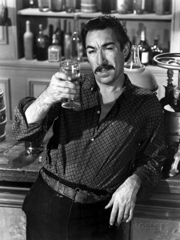 "Anthony Quinn as Eufemio Zapata in ""¡Viva Zapata!"" (1952). Director: Elia Kazan. 1952: Oscar: Best Supporting Actor."