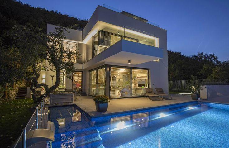 White cube house by ARX Architect Studio Hungary 01