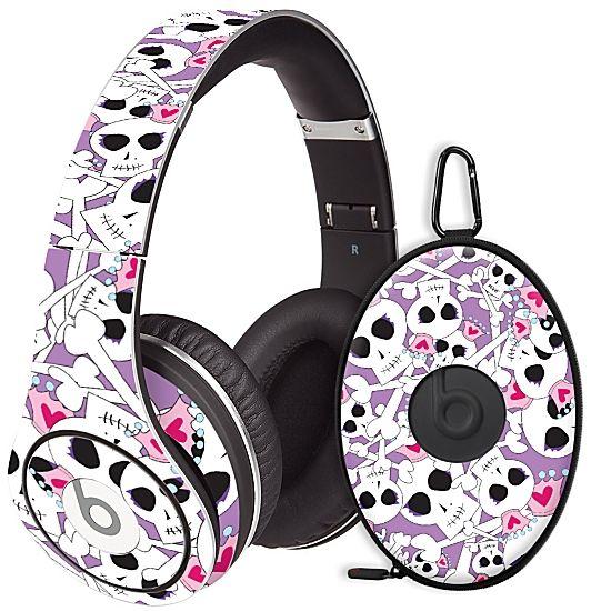 Skull Princess #Skin  for the #Beats #Studio #Headphones & Case by #Skinzy.com