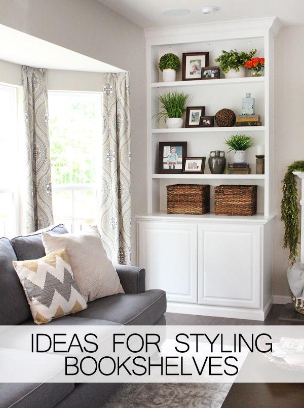 ideas for styling bookshelves - Interior Design My Home