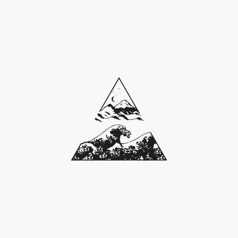 Tiefer als jeder Ozean, höher als jeder Berg, geht Ihre Liebe weiter und weiter. Zweiteiler #flashbynoel #illustration @house_fires
