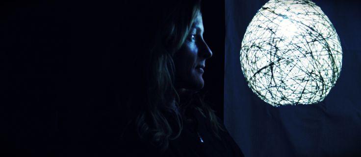 """Sphere lamp"", con Sarah Brindely.."