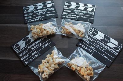 kreative Einladung ins Kino