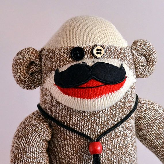 196 Best Sock Monkey Images On Pinterest Sock Monkeys Monkeys And Monkey Business