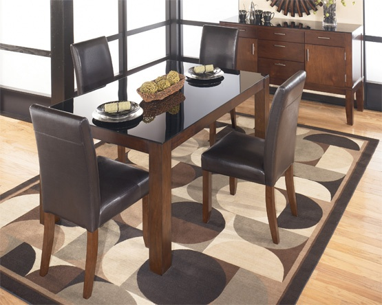 Alyn dining collection from national furniture liquidators for Kitchen set informa