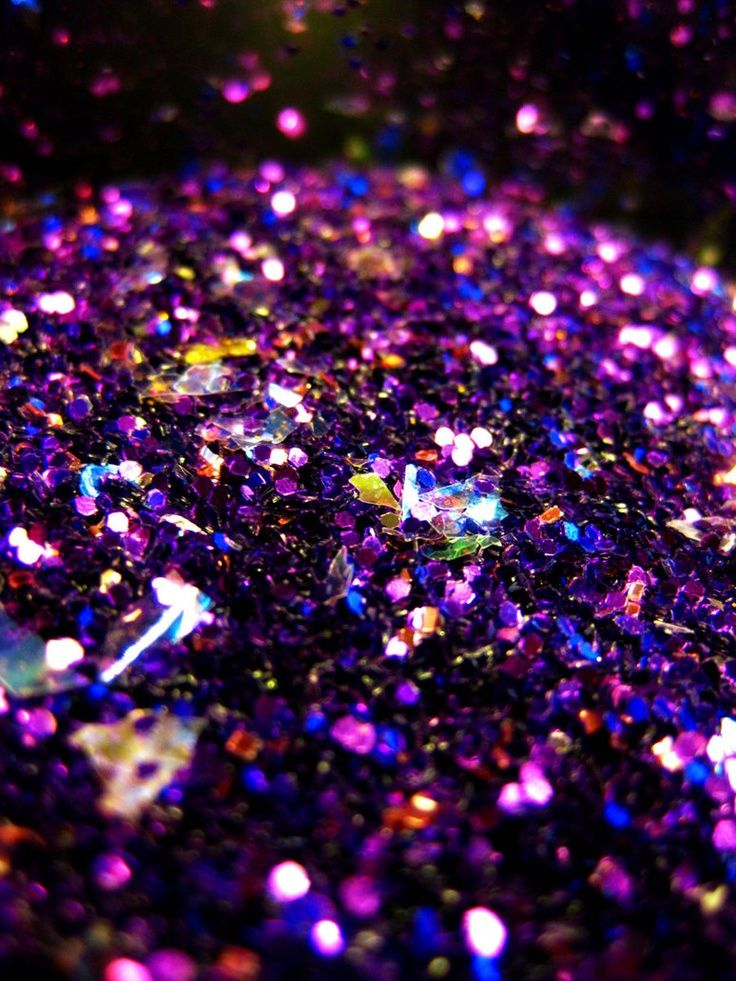 Light Glitter The Effect Created Where Multiple Little