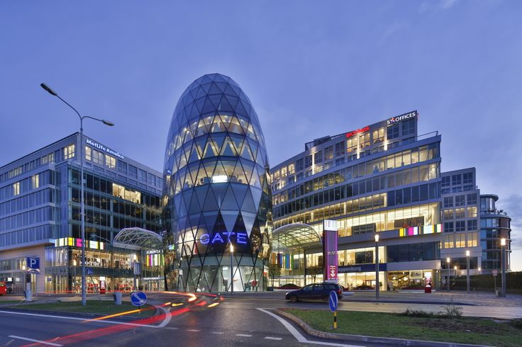 Eurovea International Trade Center, Office Building, Bratislava-Slovakia
