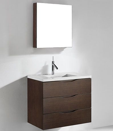 Best Photo Gallery For Website Madeli Milano Bathroom Vanity for Quartzstone Top Walnut